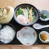 Tomoshige - 料理写真:鍋焼きうどん定食…980円