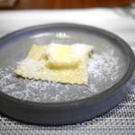 自家製リコッタチーズのトルテッリ・ベルベッタ