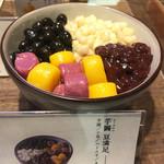 台湾甜商店 - 店頭の食品サンプル