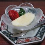 銀ちろ本店 - 紀州御膳 デザート