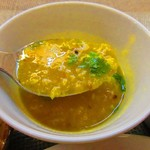 のんきぃ - ムング豆のカレー