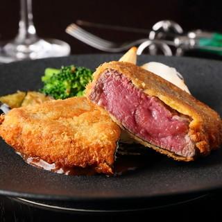 """その時""""一番美味しい産地""""から国産牛フィレ肉を厳選仕入れ"""