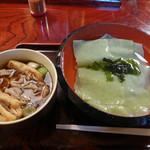 大むら - 川幅肉汁(700円)_2018-03-15