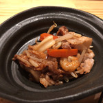 鹿屋アスリート食堂 - 豚肉と海鮮回鍋肉。