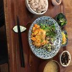 野菜とつぶつぶ アプサラカフェ - アプサラ定食
