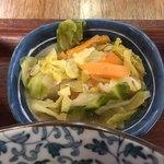 野菜とつぶつぶ アプサラカフェ - キャベツと人参煮