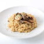 【6】牡蠣とポルチーニ茸のリゾット