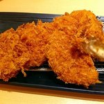 新宿さぼてん - 料理写真:5種チーズのメンチかつ・やわらかヒレかつ