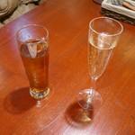 Gastro Sukegoro - ウーロン茶とチリのスパークリングワイン