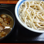 岡野屋食堂 - 肉汁うどん。