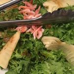 82554349 - わさび菜のサラダ