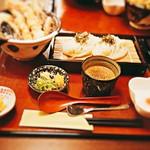 葉月 - 天丼セットざる1350円税込