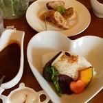 喫茶 フォレスト - スパイシースープカレー〈税込1000円〉
