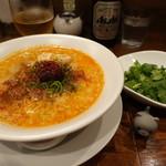 82558745 - 麻辣担々麺+パクチー