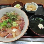 海鮮いづつ - 【りゅうきゅう丼定食 980円】