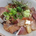 海鮮いづつ - 【りゅうきゅう丼定食】アップ♪