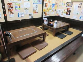 海鮮いづつ - カウンター席と座敷が有ります♪