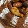 パン家 穂香 - 料理写真:たっぷりのナッツの下にも ・・・♡