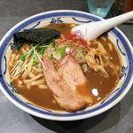 つけ麺や 武双 - 武双(鶏魚介らーめん 900円)