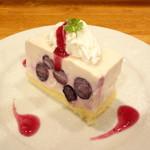 Kohga - ブルーベリーアイスチーズケーキ (グルテンフリー)