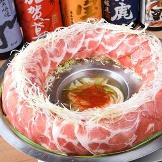 【大人気!松坂豚の肉炊き鍋】2時間飲み放題付き3,480円