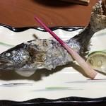 旅館 湯之迫 - 続いて山女魚の塩焼き