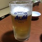 旅館 湯之迫 - 生ビール=840円←奉仕料20%込み