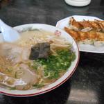 万来軒 - 料理写真:僕のお昼(๑・̑◡・̑๑)