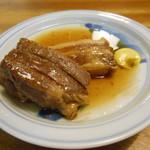天ぷら ふそう - 豚角煮(╹◡╹)