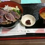 いろは丸 - 鰹わらやきたたき定食 (税込み918円)