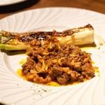 legno - ☆鴨のラグーと葱