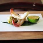 松川 - ミル貝とふきのとう