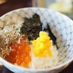 松川 - ご飯をお供と共に