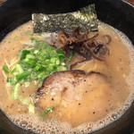 麺や 璃宮 - 九州らあめん¥650
