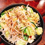 談妃留 - ソースで食べる野菜炒め(^^)