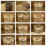 SUSHI TOKYO TEN、 - しじみ一番出汁と飲み放題で飲んだ芋水割りの数