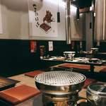 九州焼肉 てにをは - ちなみに店内はWi-Fiフリー。ピークタイムを外せば食後もそれなりにゆっくり過ごせます。