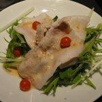 まるひら - ⑦豚しゃぶのサラダ
