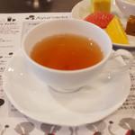 アーユルヴェーダ・カフェ ディデアン - セルフワンプレート(1500円)の紅茶