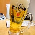立ち飲み大松 - 生ビール