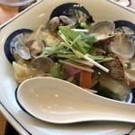 リンガーハット - 料理写真:2018 春の期間限定 あさりちゃんぽん