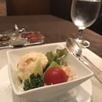 東洋軒 本店 - セットのサラダ
