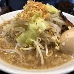 ラーメン食堂 縁 - ガリ豚パンチ
