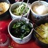 忍者そば 五ヱ門 - 料理写真:たくさんの薬味が食べ放題
