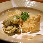 高太郎 - 蕗のとうと筍の天ぷら