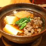 高太郎 - 牛山さんの肉豆腐