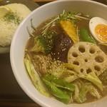 きいろ - チキン野菜のスープカリー(1100円)