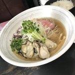 らぁめんこはく - 牡蠣と煮干の中華そば  830円