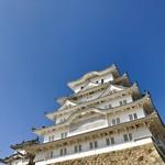 姫路麺哲 - 食後には姫路城を訪問しました(*´∀`)