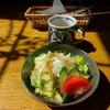 オルガン - 料理写真:前菜のスープ&サラダ